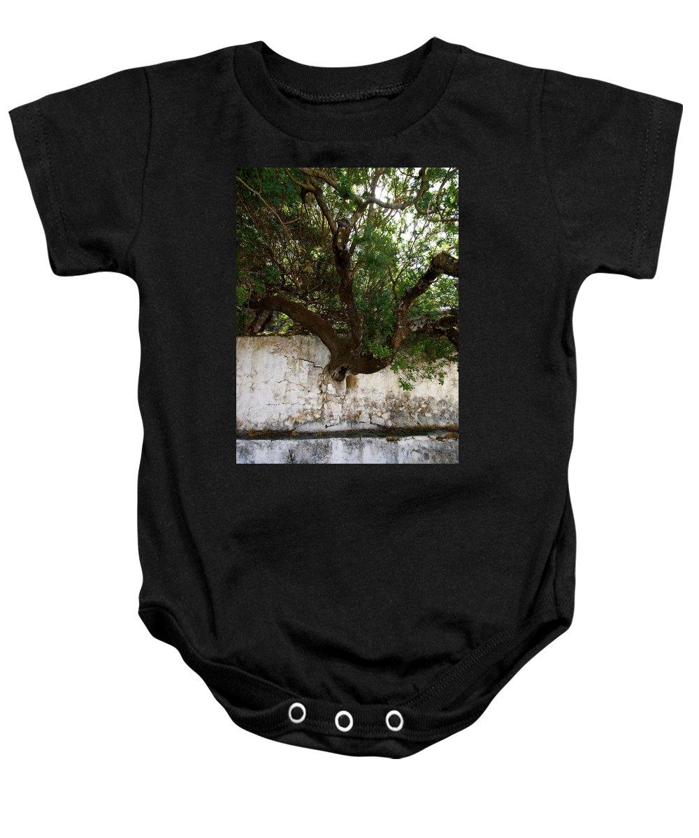 Jouko Lehto Baby Onesie featuring the photograph Through The Wall by Jouko Lehto
