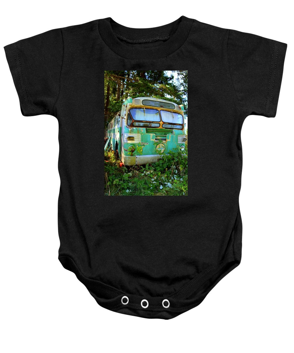 Baby Onesie featuring the photograph Transit Bus by Danielle Silveira