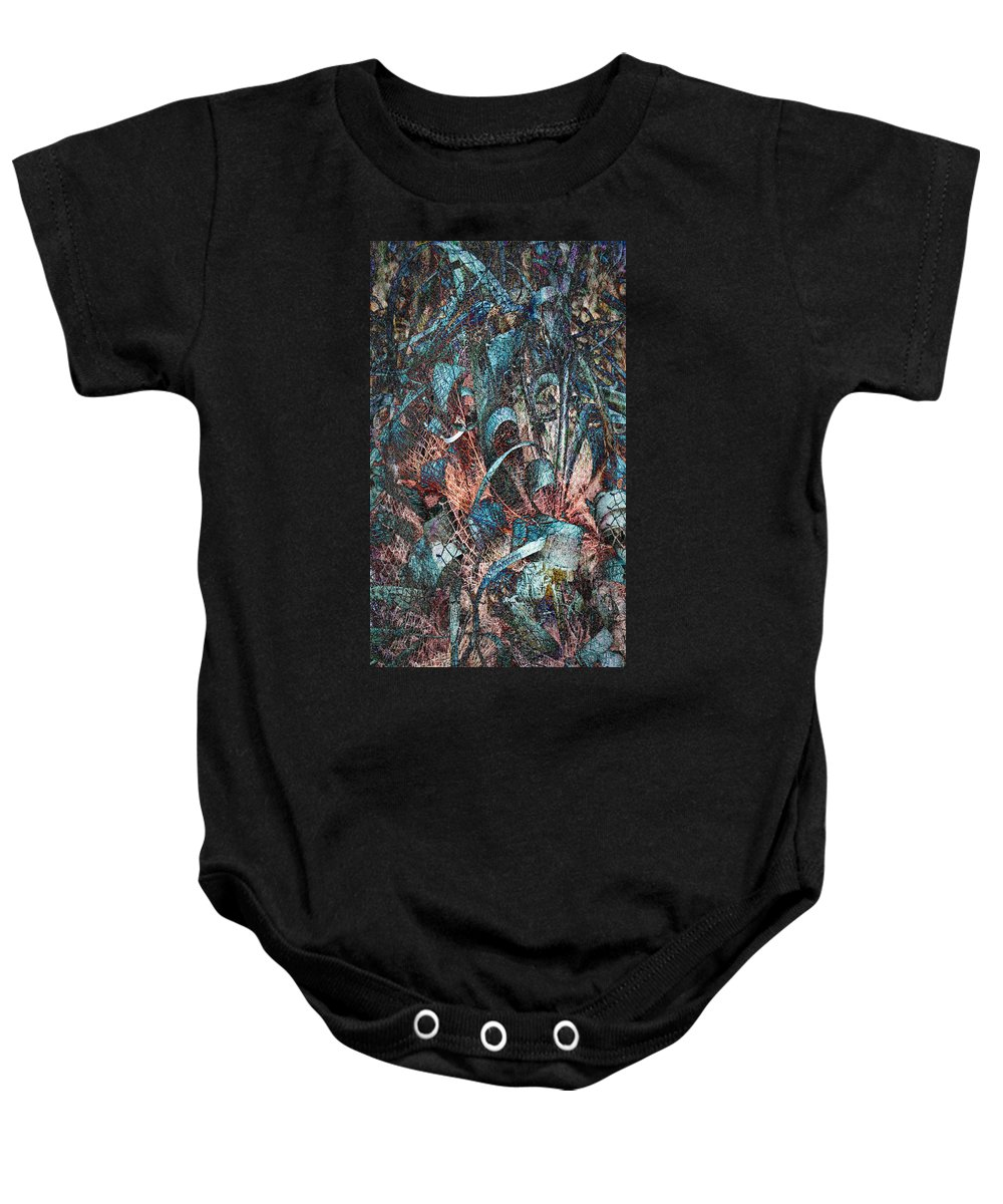 Twisted Baby Onesie featuring the digital art Twistered 3 by Francesa Miller