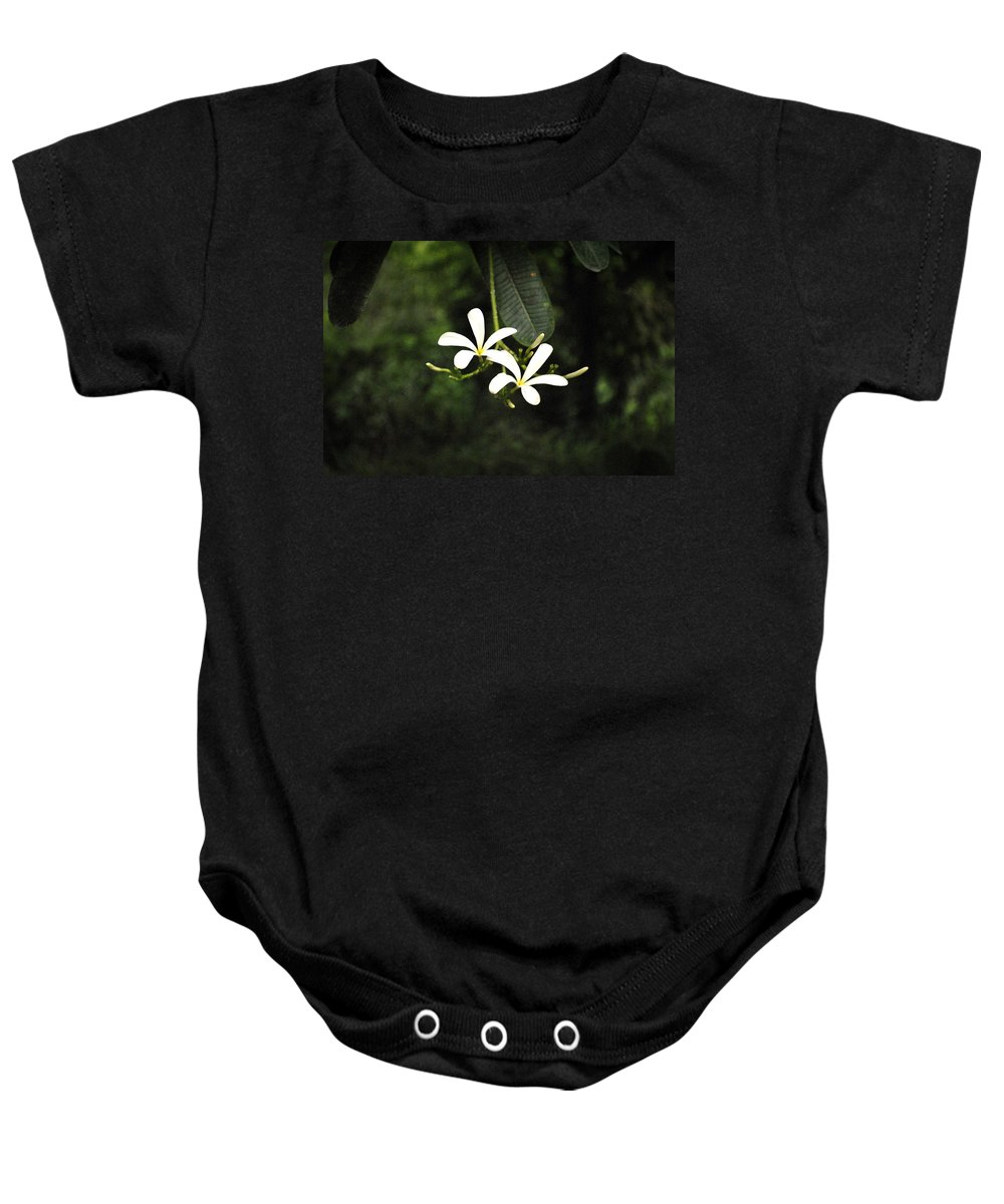 Flower Baby Onesie featuring the photograph Two Flowers by Sumit Mehndiratta