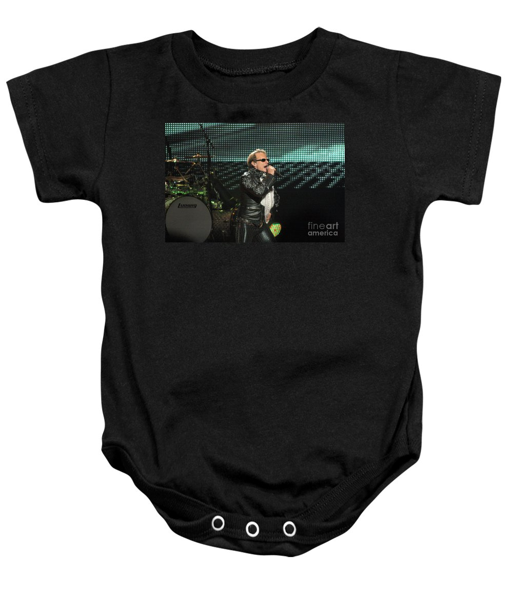 Van Halen Baby Onesie featuring the photograph Van Halen-7085 by Gary Gingrich Galleries