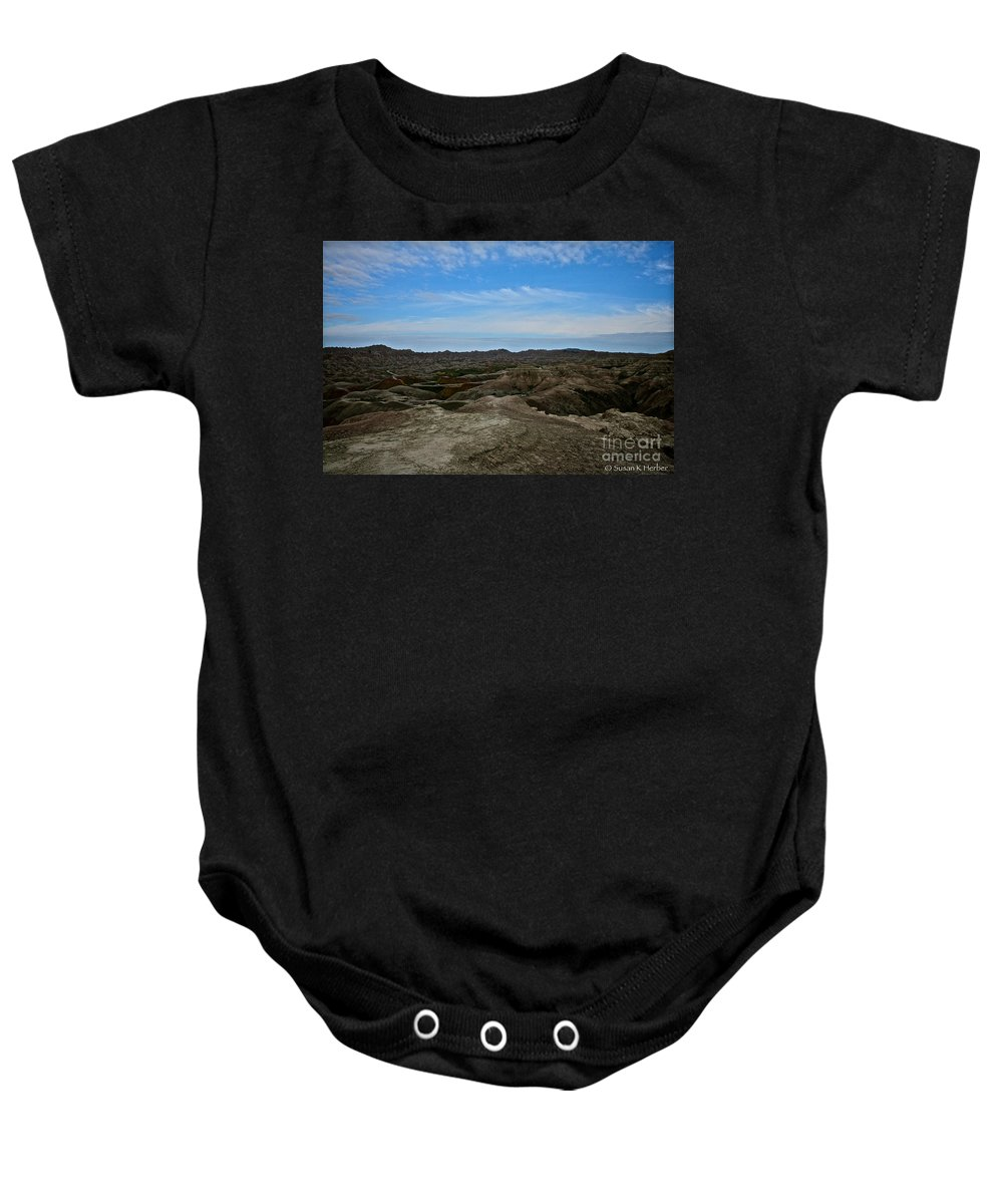 Landscape Baby Onesie featuring the photograph Western Usa by Susan Herber