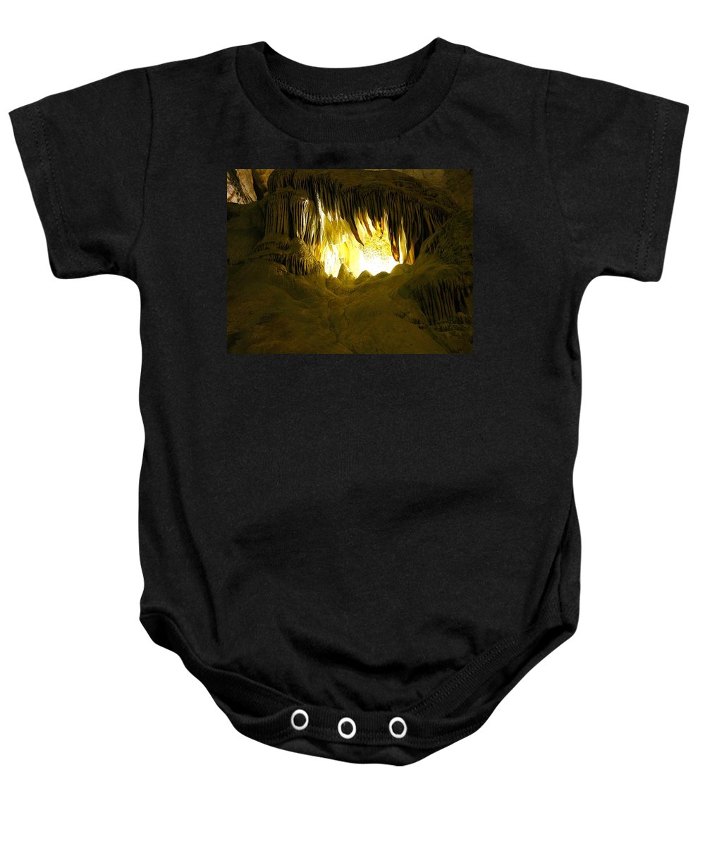 Whales Mouth Baby Onesie featuring the photograph Whales Mouth by Keith Stokes