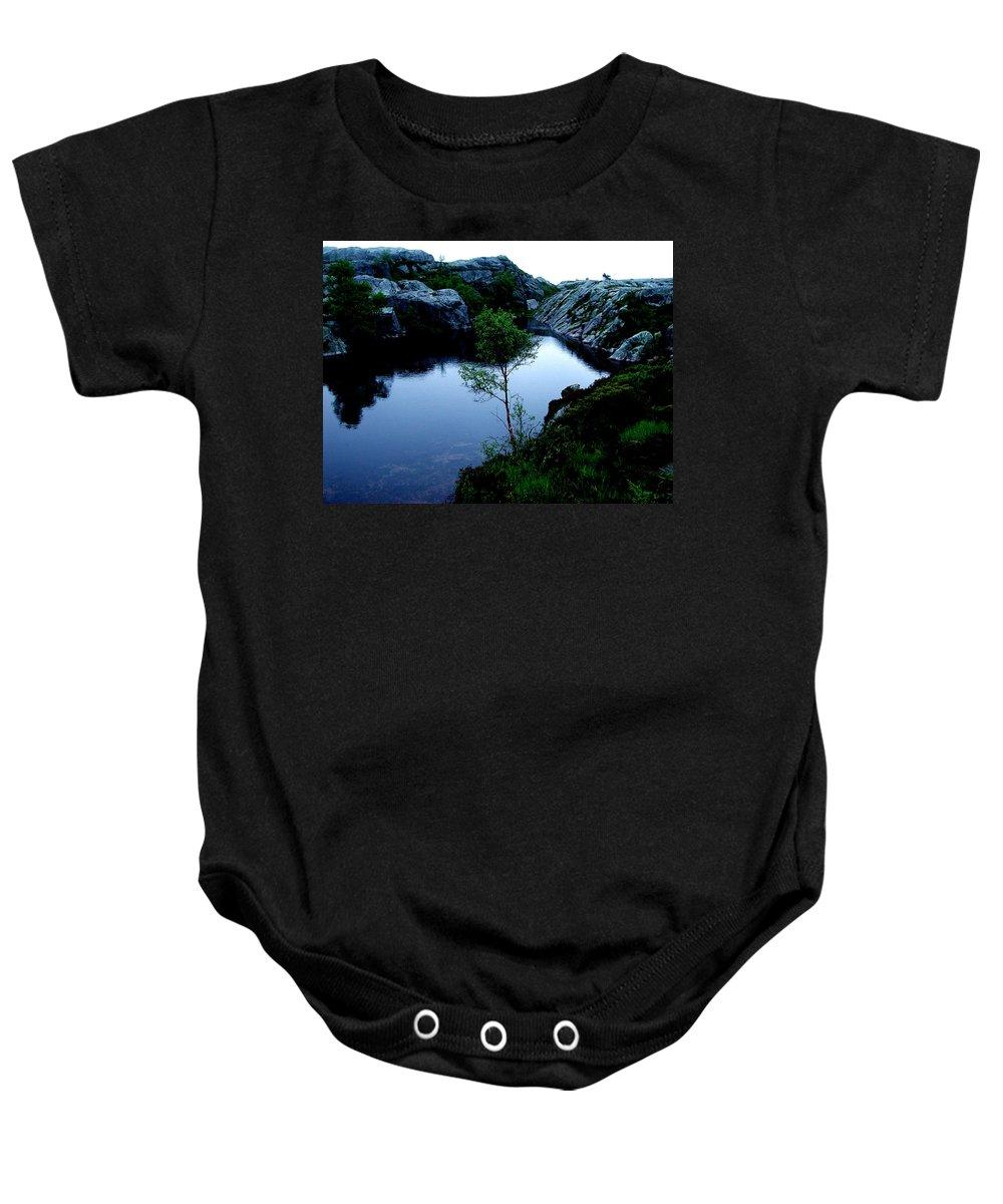 Colette Baby Onesie featuring the photograph Wild Nature In Norway by Colette V Hera Guggenheim