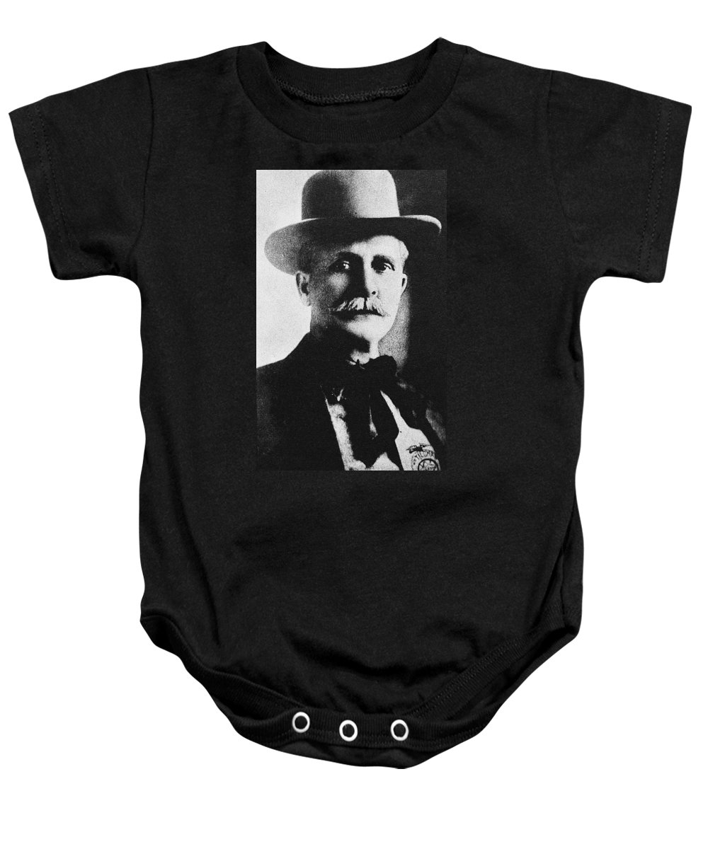 19th Century Baby Onesie featuring the photograph William M. Tilghman by Granger