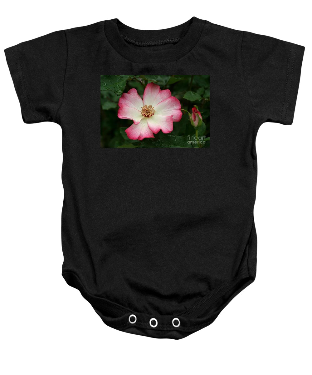 Rose Baby Onesie featuring the photograph Windmill by Living Color Photography Lorraine Lynch