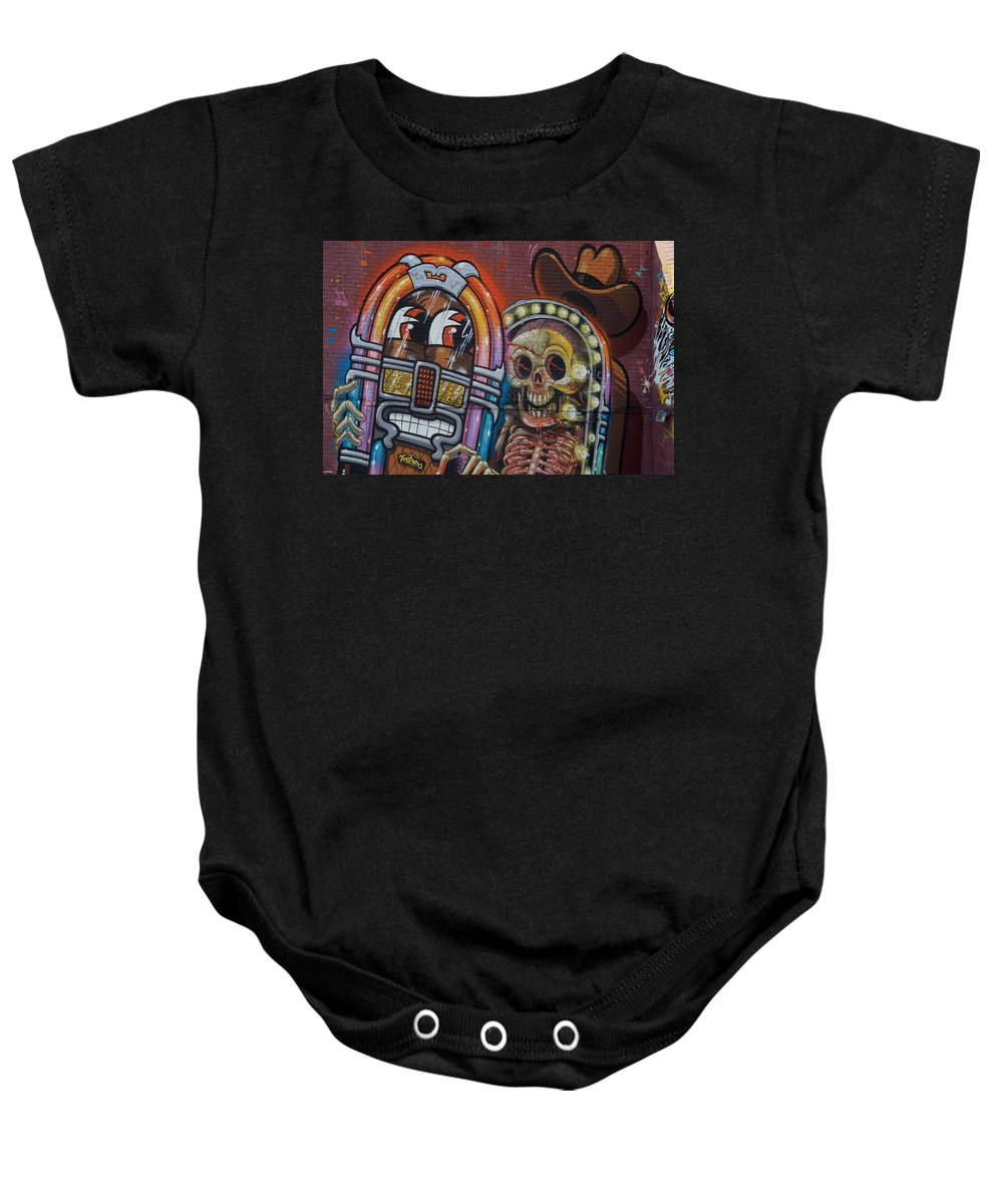 Landscape Baby Onesie featuring the photograph Yeehaaa by Dennis Pintoski