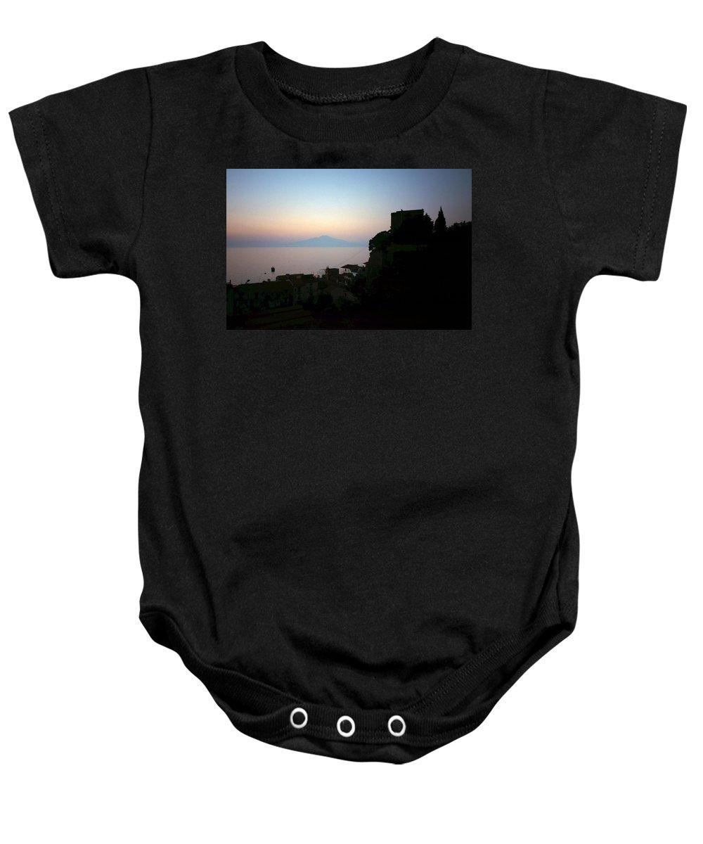 Lehtokukka Baby Onesie featuring the photograph Vesuvius View by Jouko Lehto