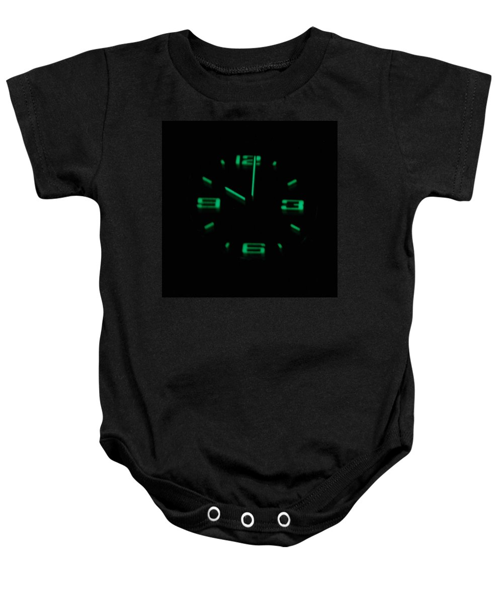 Neon Baby Onesie featuring the photograph 10 01 by Rob Hans