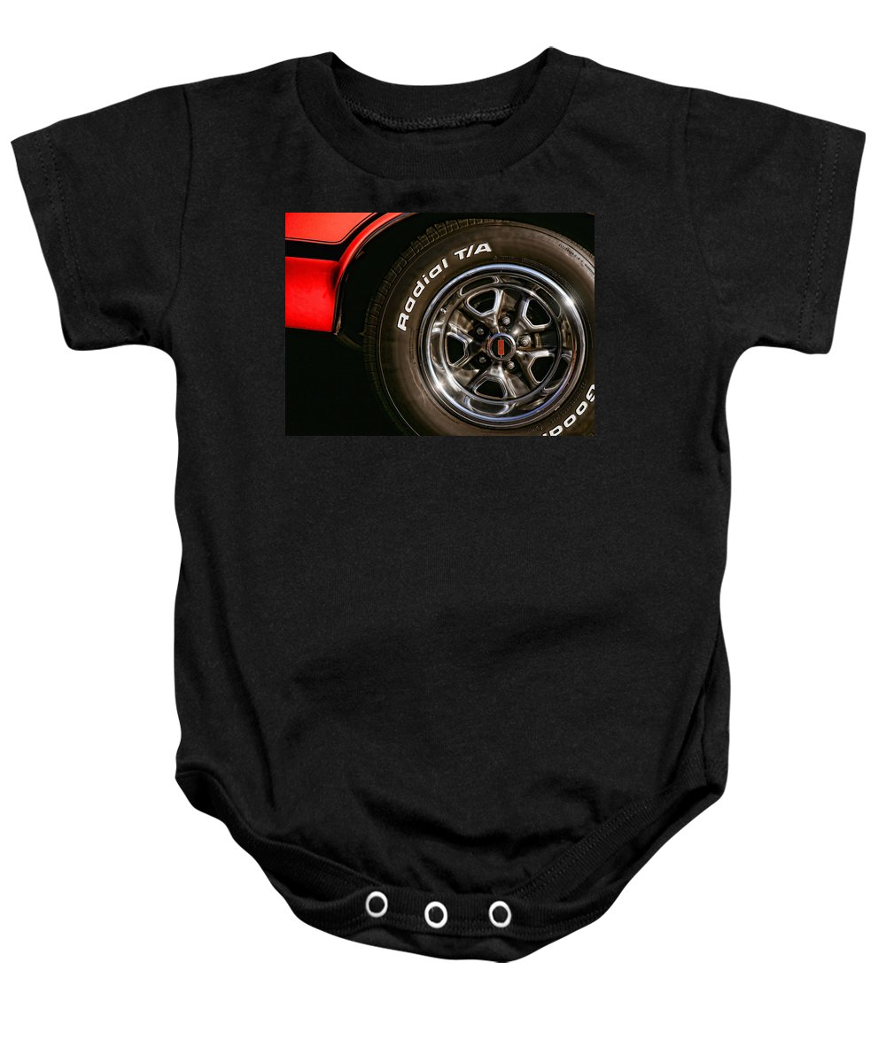 Oldsmobile Baby Onesie featuring the photograph 1972 Olds 442 by Gordon Dean II