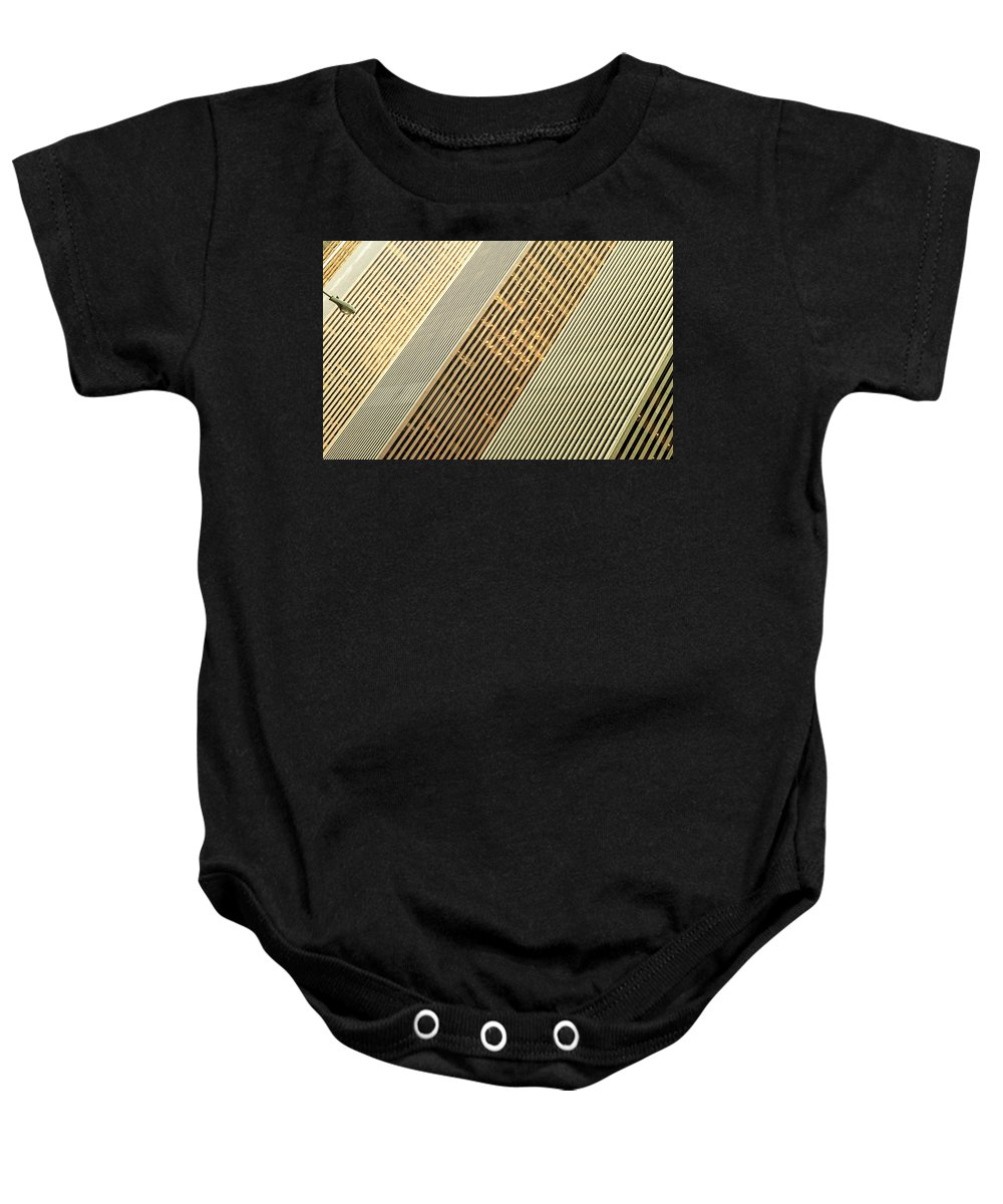 6th Avenue Baby Onesie featuring the photograph 6th Avenue by Michael Jacobs