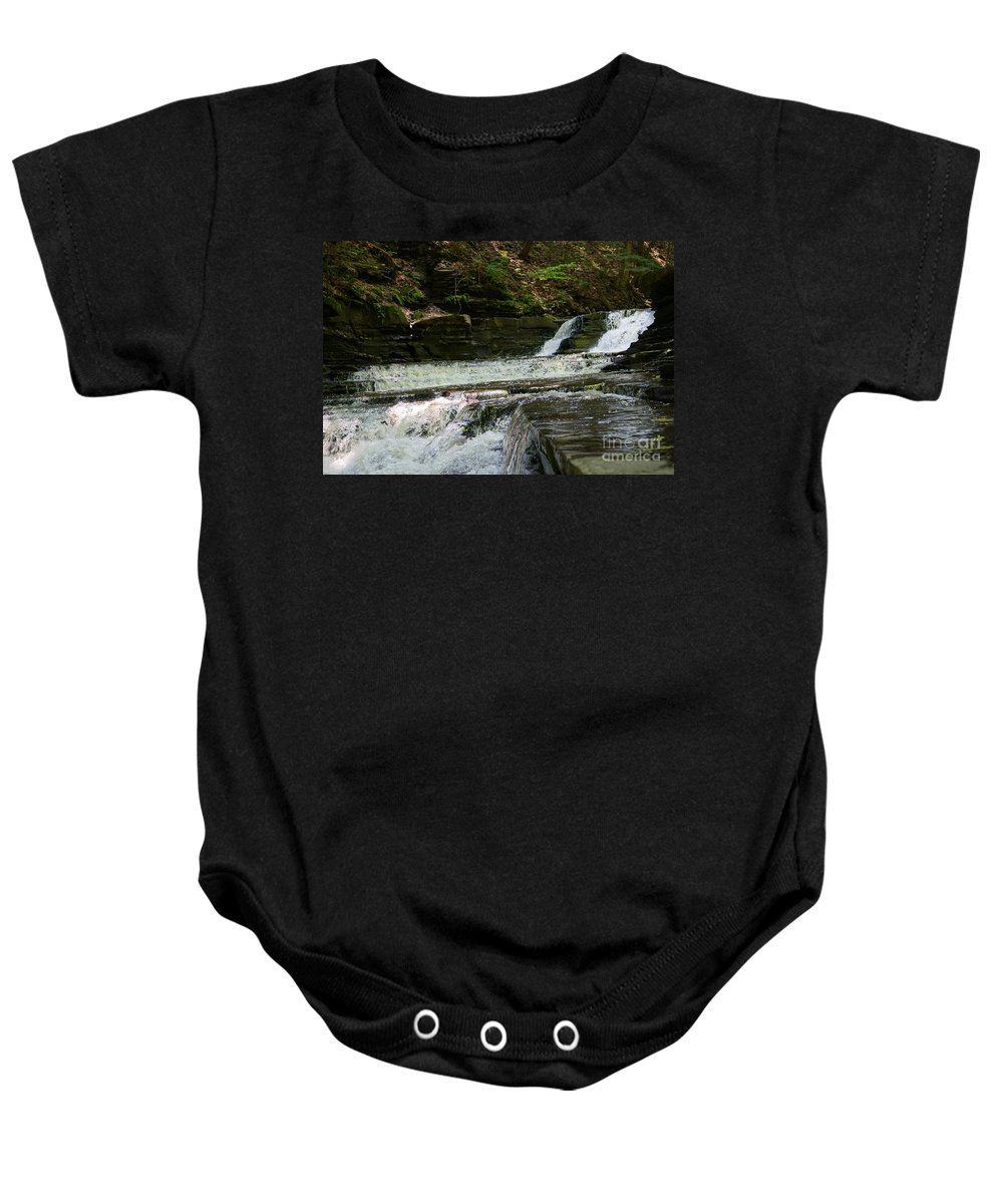 Butterfly's Baby Onesie featuring the photograph Break Time by Jeffery L Bowers