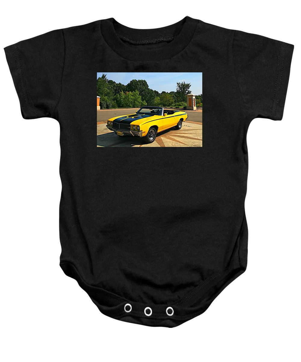 Car Baby Onesie featuring the photograph Buick Gsx by Robert Pearson