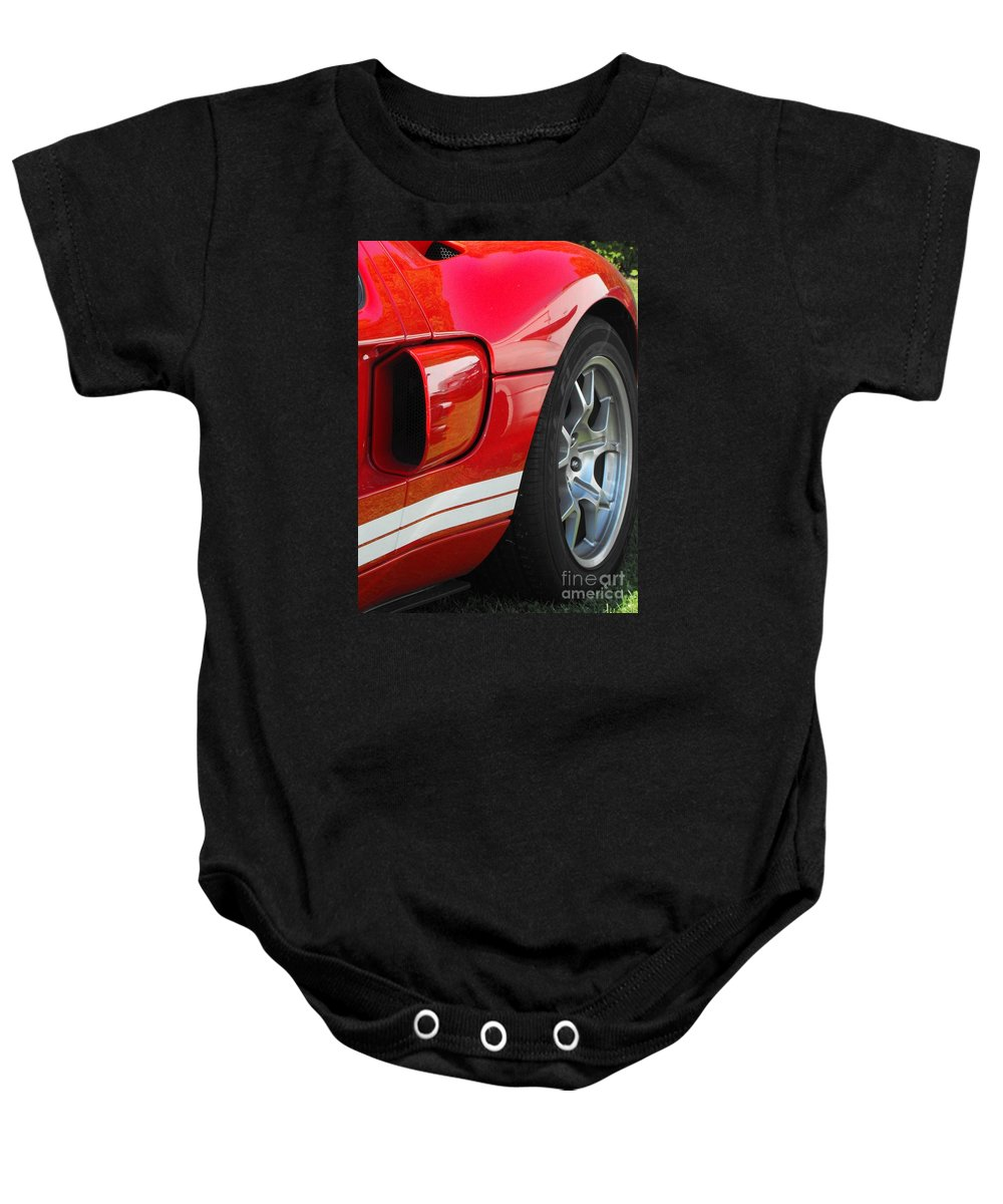 Ford.car Baby Onesie featuring the photograph Ford Gt by Neil Zimmerman
