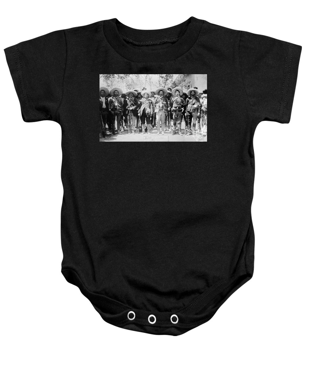 1913 Baby Onesie featuring the photograph Francisco Pancho Villa by Granger