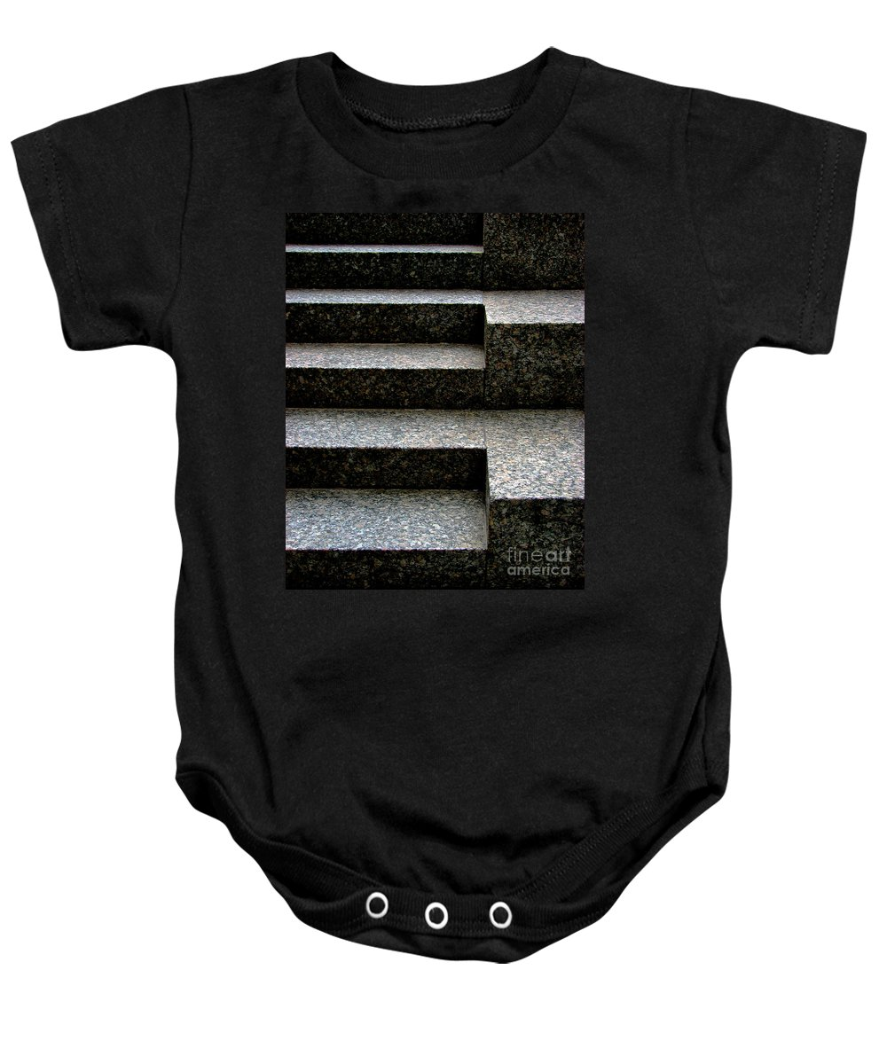 Architectural Baby Onesie featuring the photograph Gradation by Dana DiPasquale