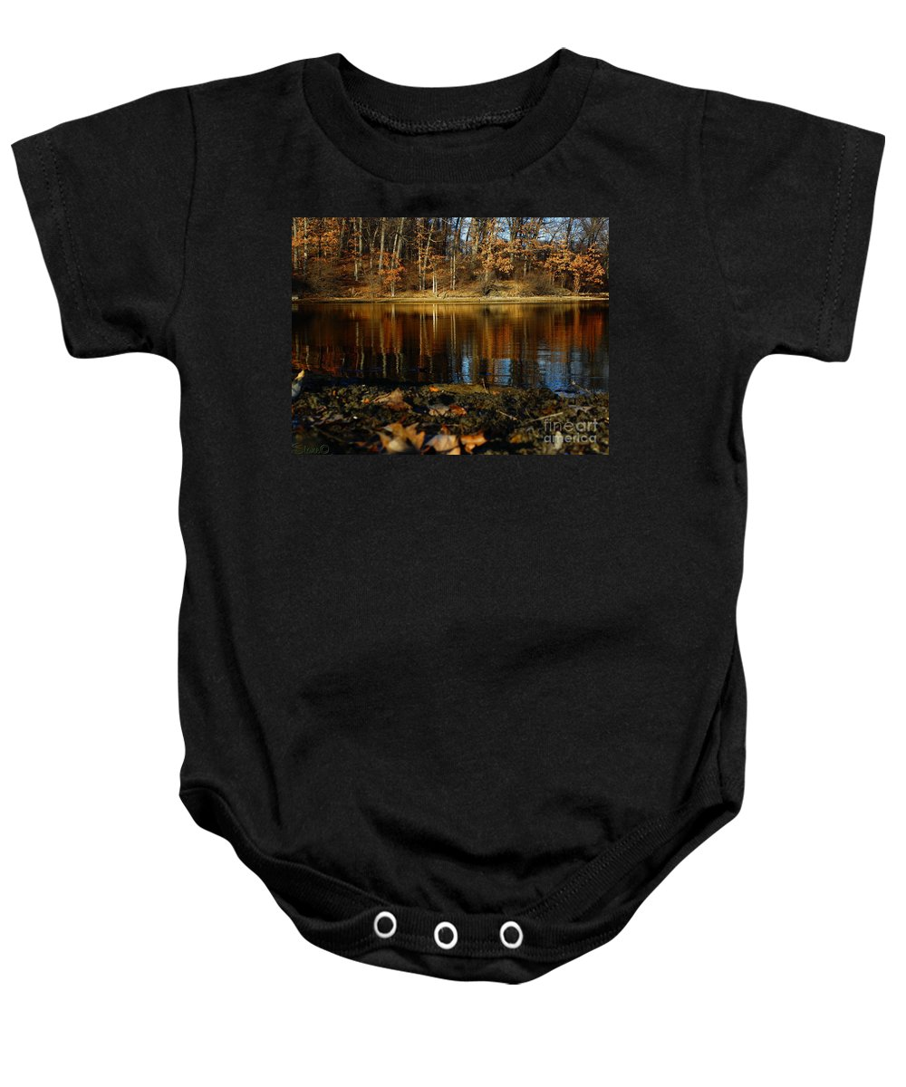 Kensington Baby Onesie featuring the photograph Kensington by September Stone