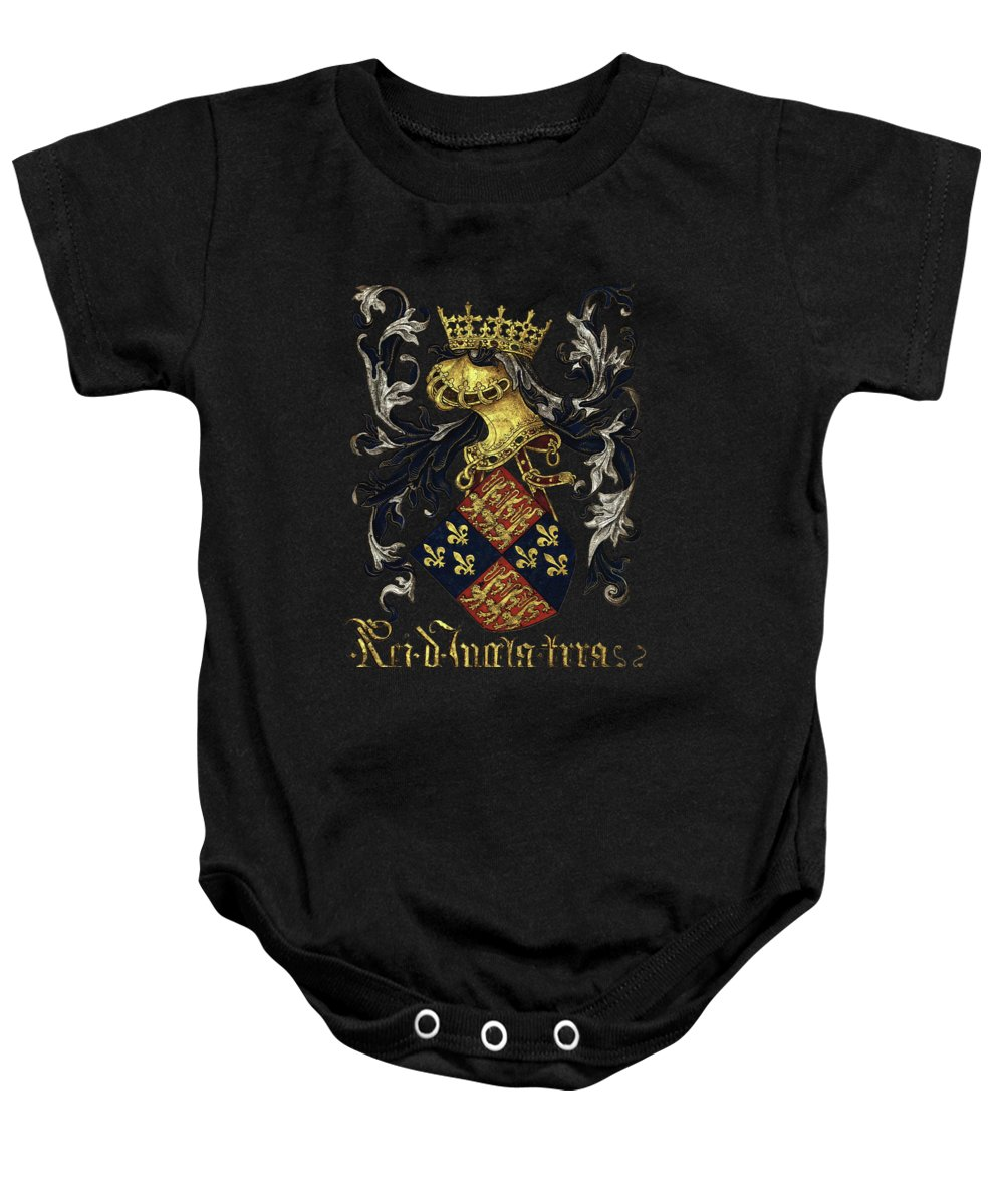 Coats Of Arms Baby Onesies