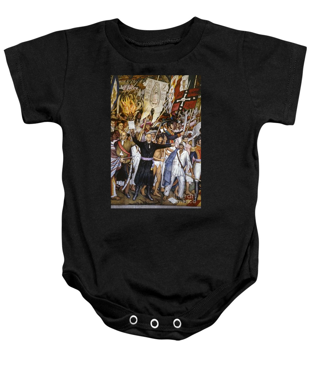 1810 Baby Onesie featuring the photograph Mexico: 1810 Revolution by Granger