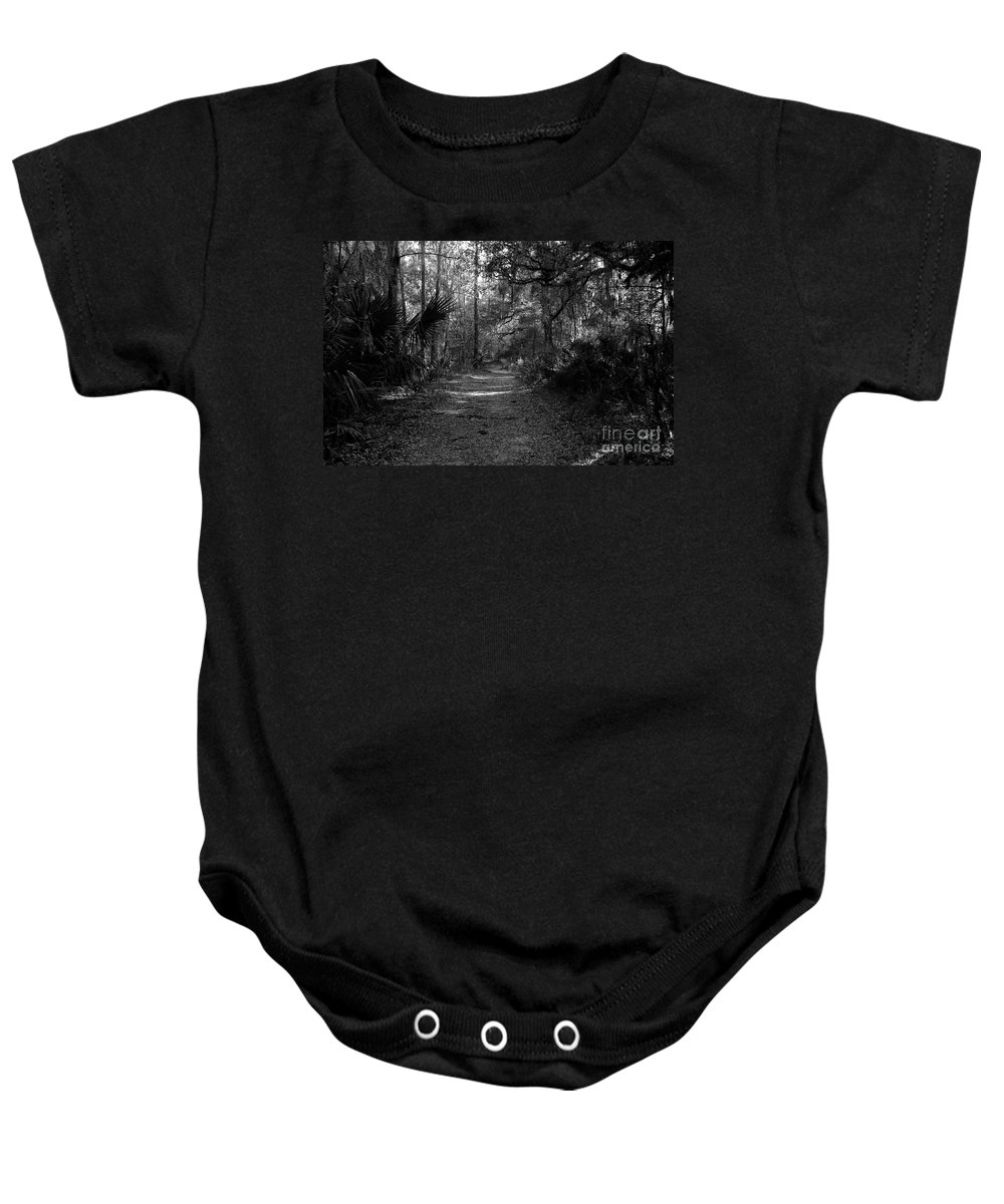 Road Baby Onesie featuring the photograph Old Florida by David Lee Thompson