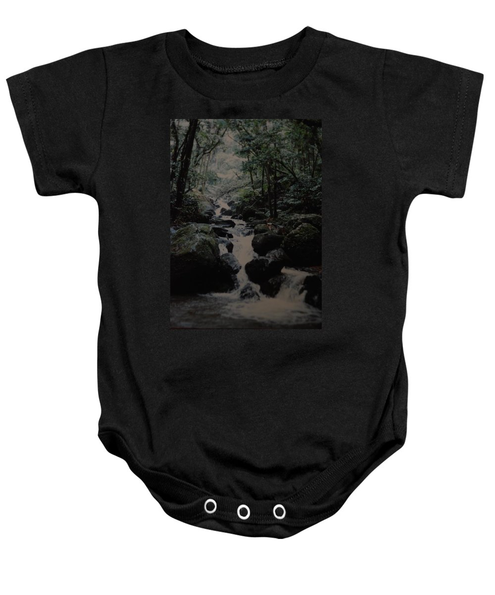Water Baby Onesie featuring the photograph Puerto Rico Water by Rob Hans