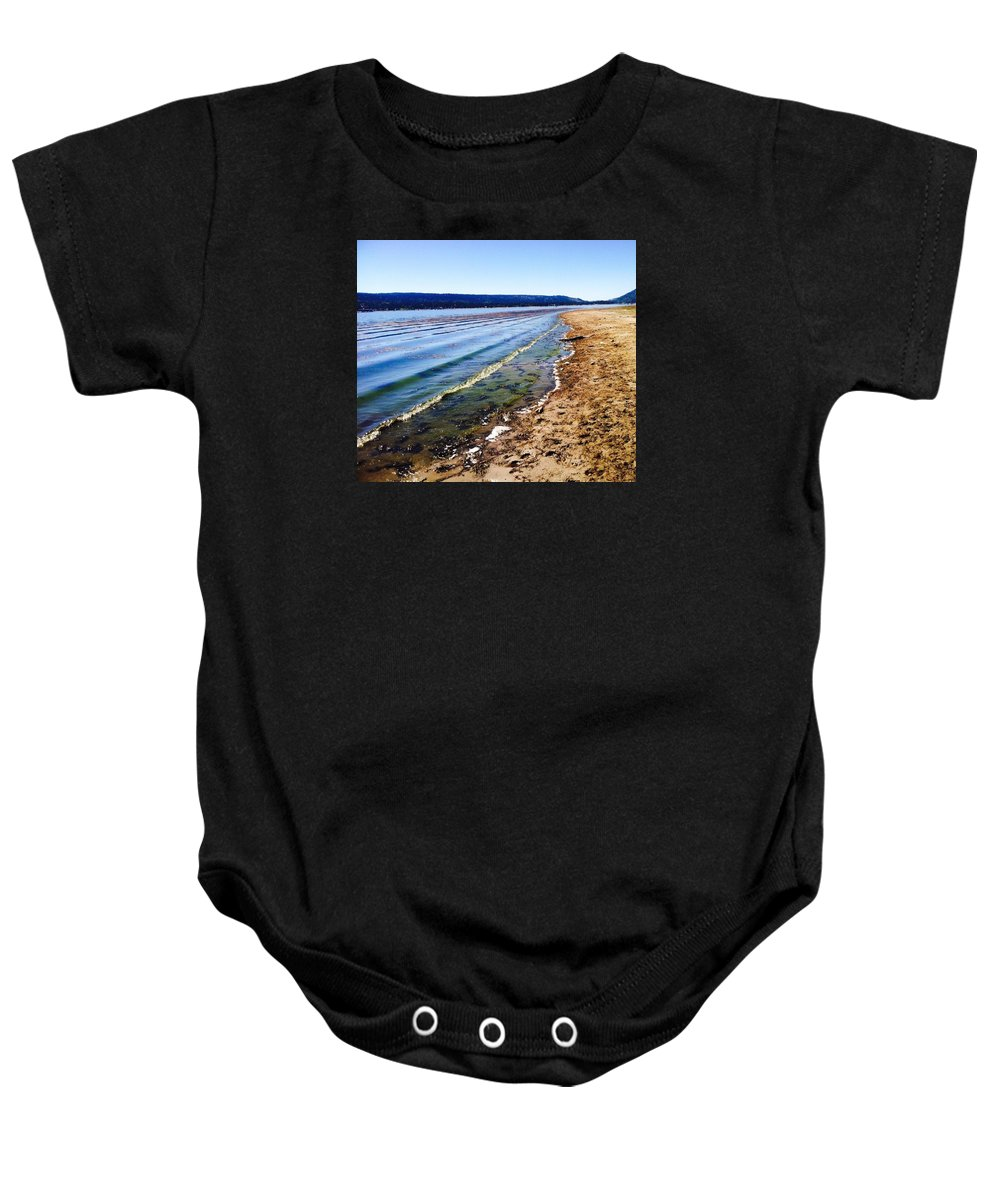 Baby Onesie featuring the photograph Salton Sea by Sherri Hasley