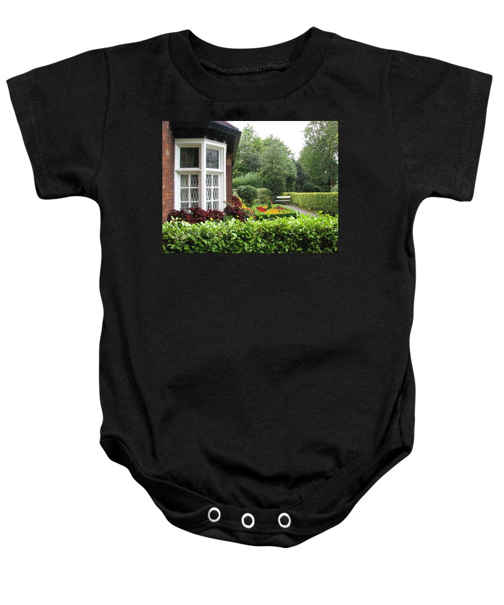St. Stephen's Green Baby Onesie featuring the photograph St. Stephen's Green by Kelly Mezzapelle