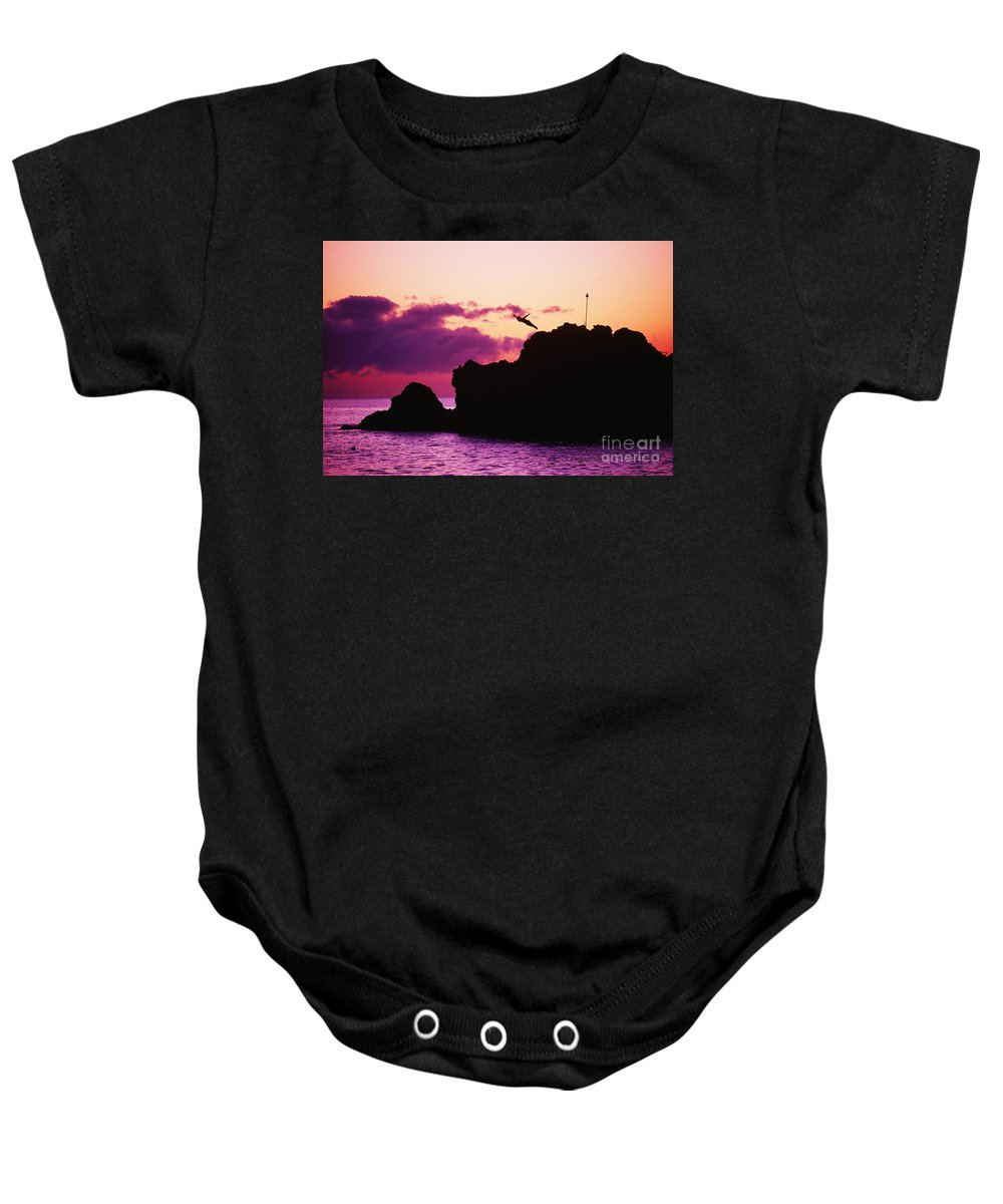 Active Baby Onesie featuring the photograph Torch Lighting by Ron Dahlquist - Printscapes