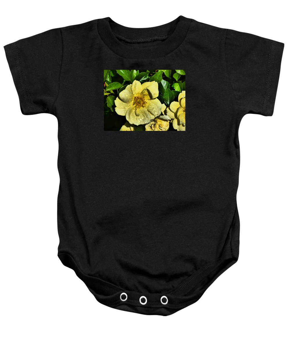 Paul Stanner Baby Onesie featuring the photograph Giving You The Best I Got by Paul Stanner