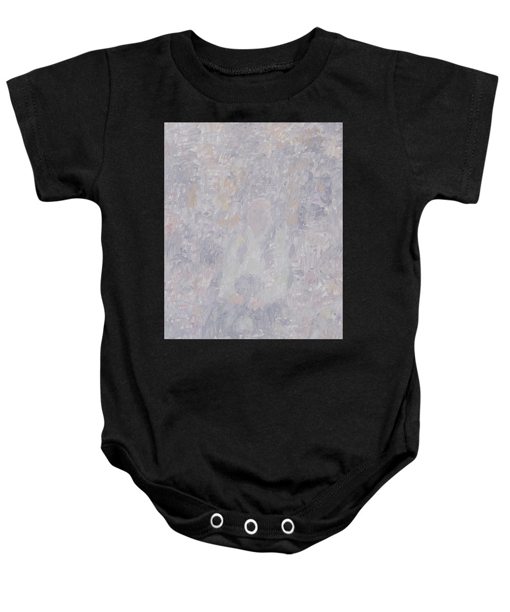 Person Baby Onesie featuring the painting Old Man by Robert Nizamov