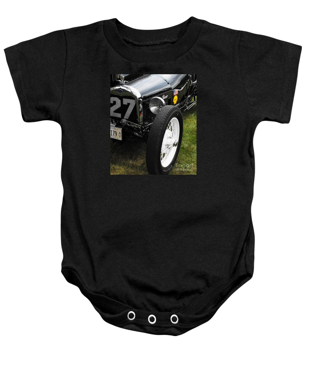 Ford Baby Onesie featuring the photograph 1920-1930 Ford Racer by Neil Zimmerman