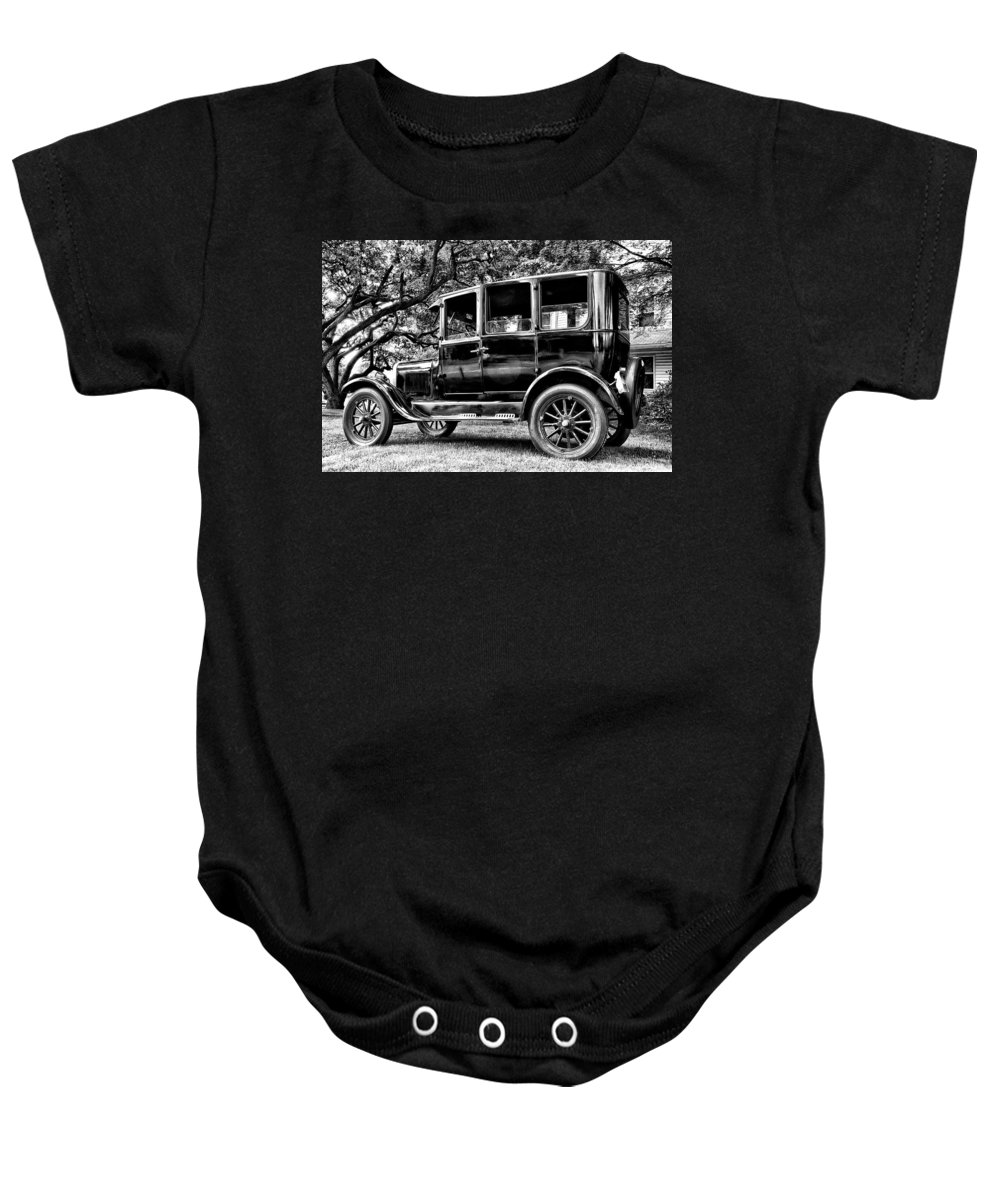 Ford Model T Baby Onesie featuring the photograph 1926 Ford Model T by Bill Cannon