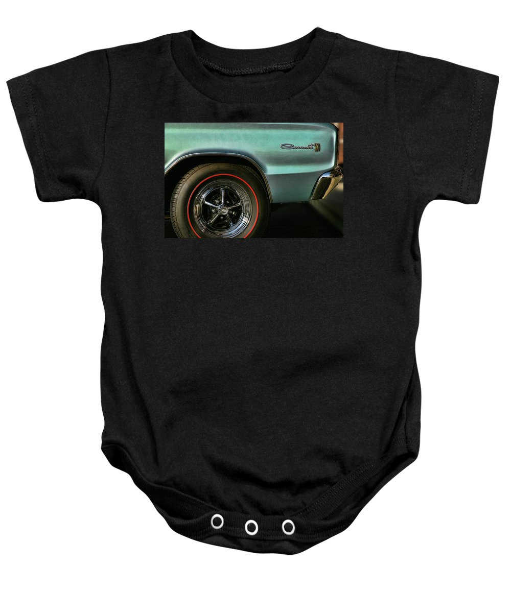 1966 Baby Onesie featuring the photograph 1966 Dodge Coronet 500 by Gordon Dean II