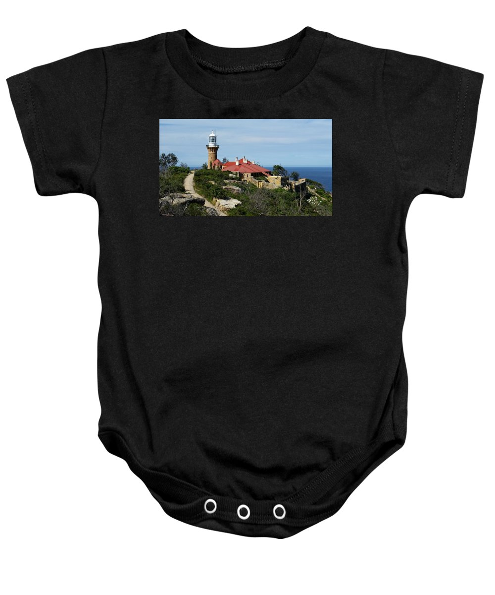 Australia Baby Onesie featuring the photograph Australia - Path To Barrenjoey Lighthouse by Jeffrey Shaw