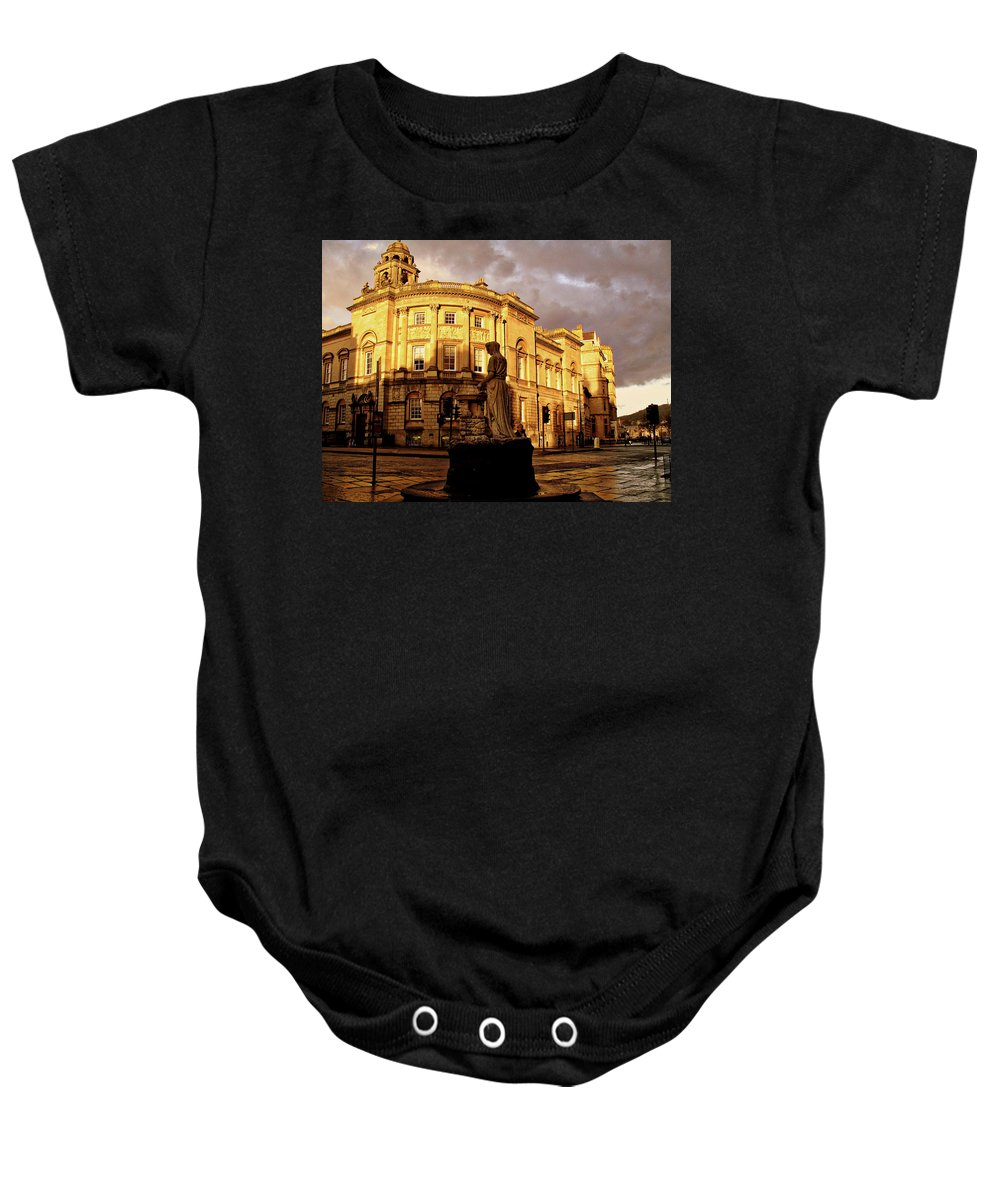 Bath England United Kingdom Uk Baby Onesie featuring the photograph Bath England United Kingdom Uk by Paul James Bannerman