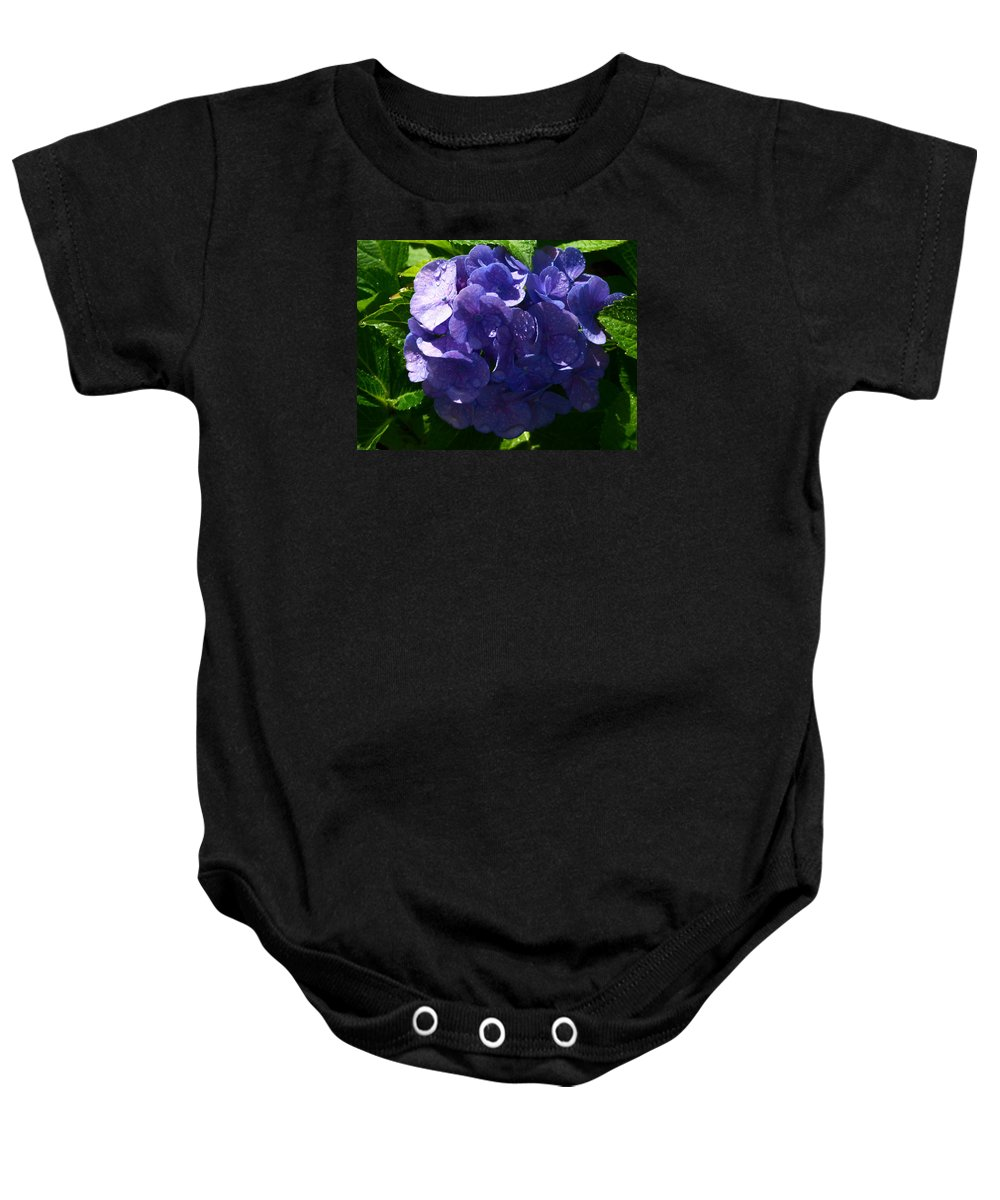 Paul Stanner Baby Onesie featuring the photograph Squeeze Me by Paul Stanner