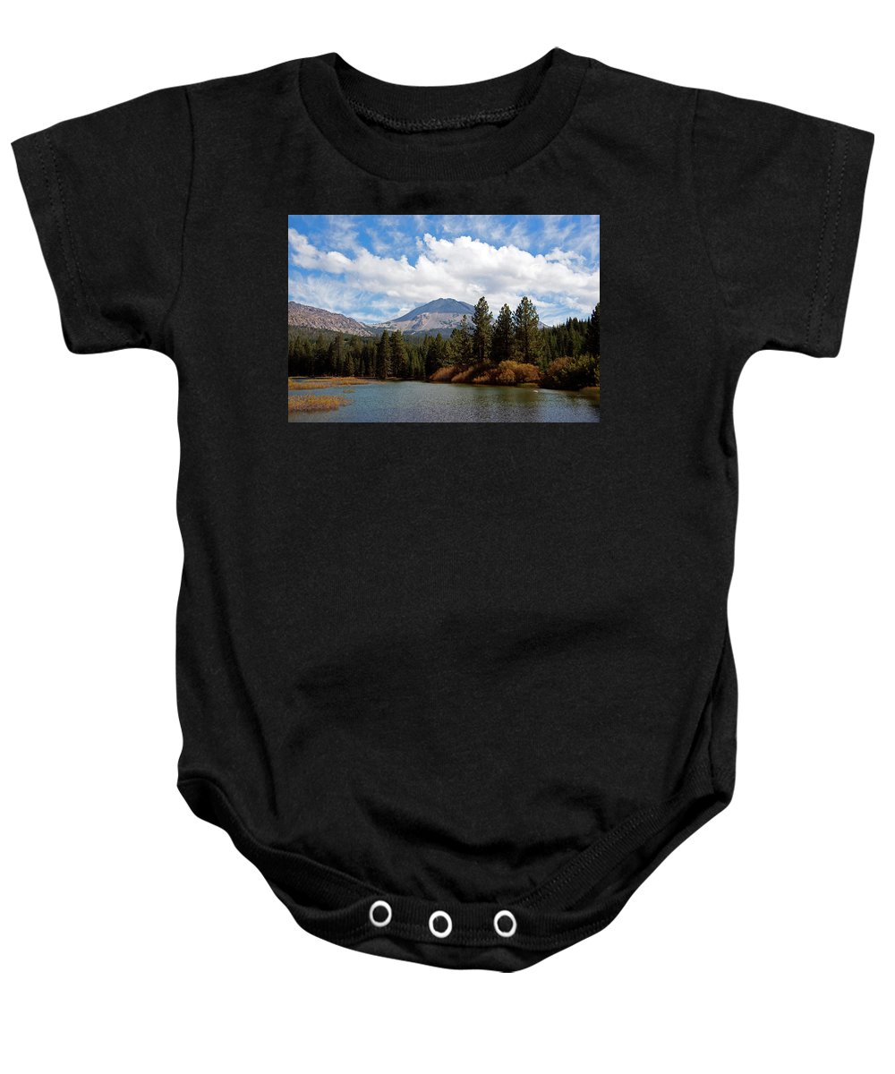 Rmb2014091700037 Baby Onesie featuring the photograph Mt. Lassen National Park by Robert Braley