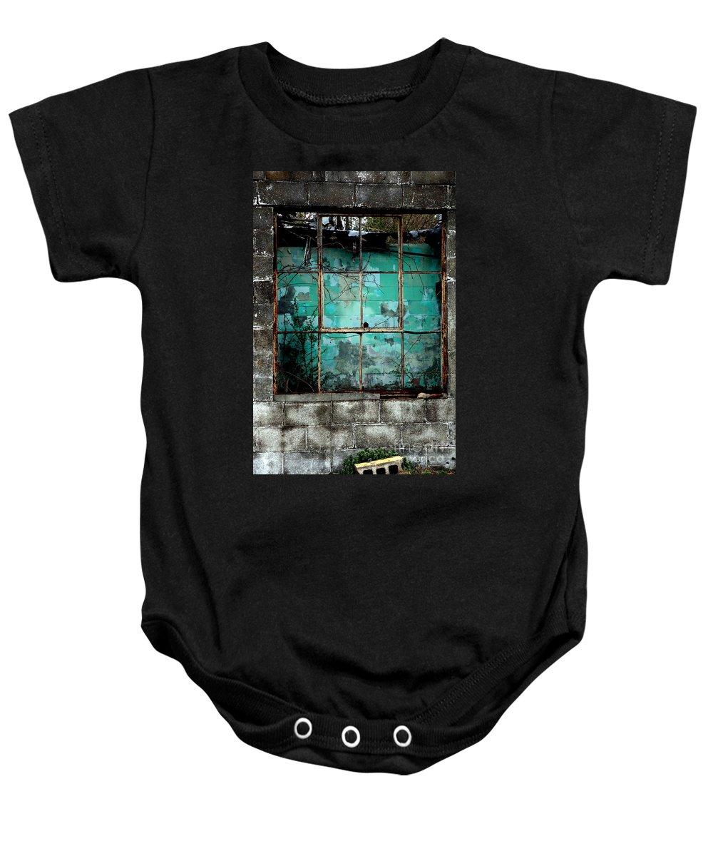 Windows Baby Onesie featuring the photograph Window by Amanda Barcon