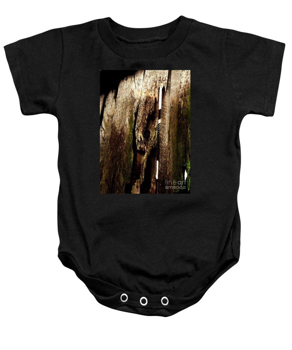 Texture Baby Onesie featuring the photograph Texture Series by Amanda Barcon