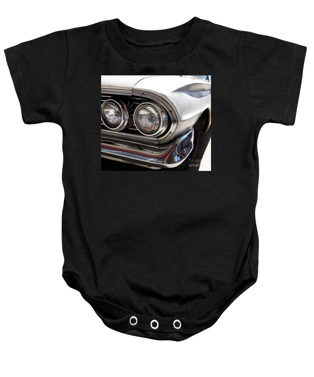 Cars Baby Onesie featuring the photograph Biscayne by Amanda Barcon