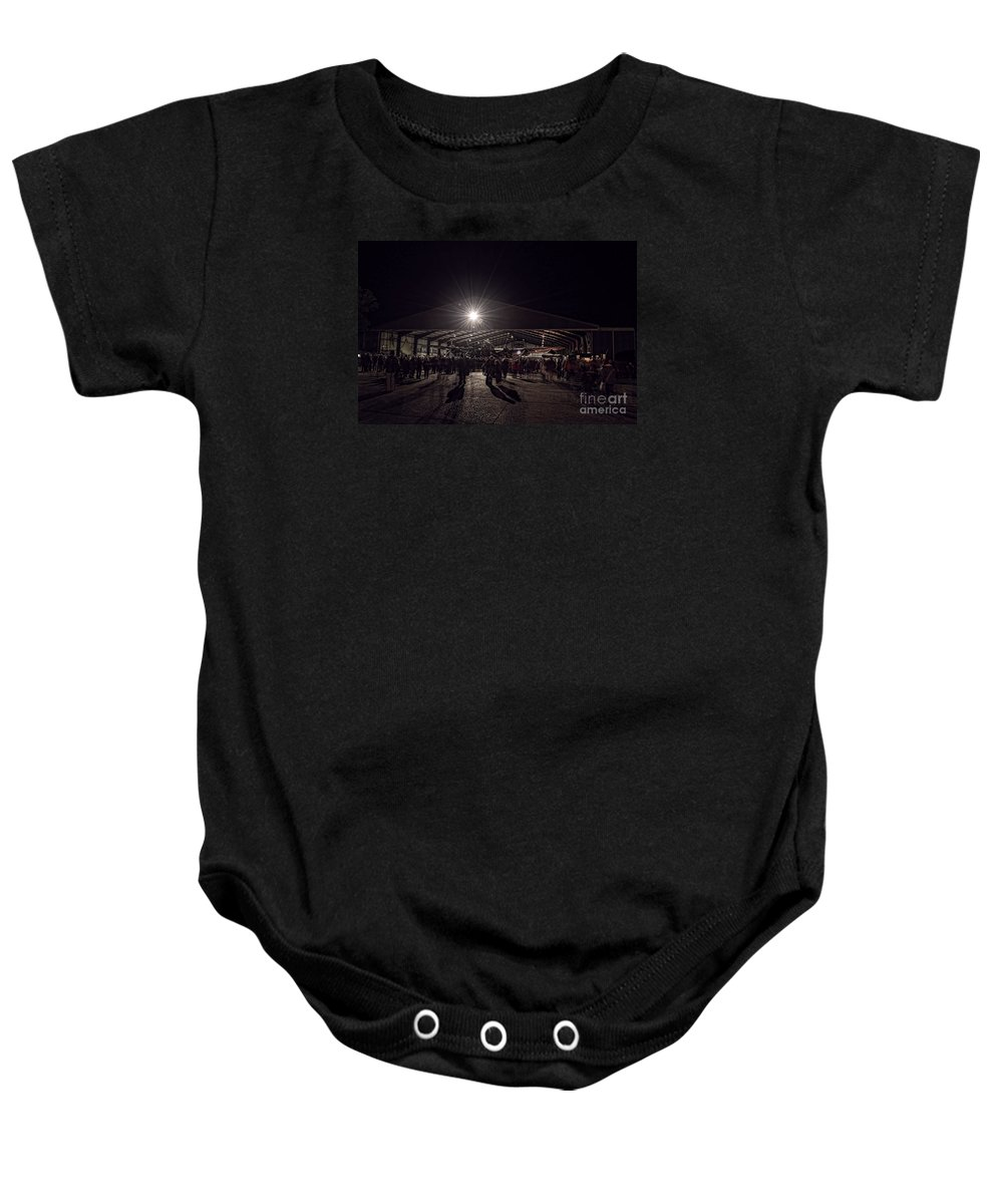 Lancaster Baby Onesie featuring the digital art Just Jane by Nigel Bangert