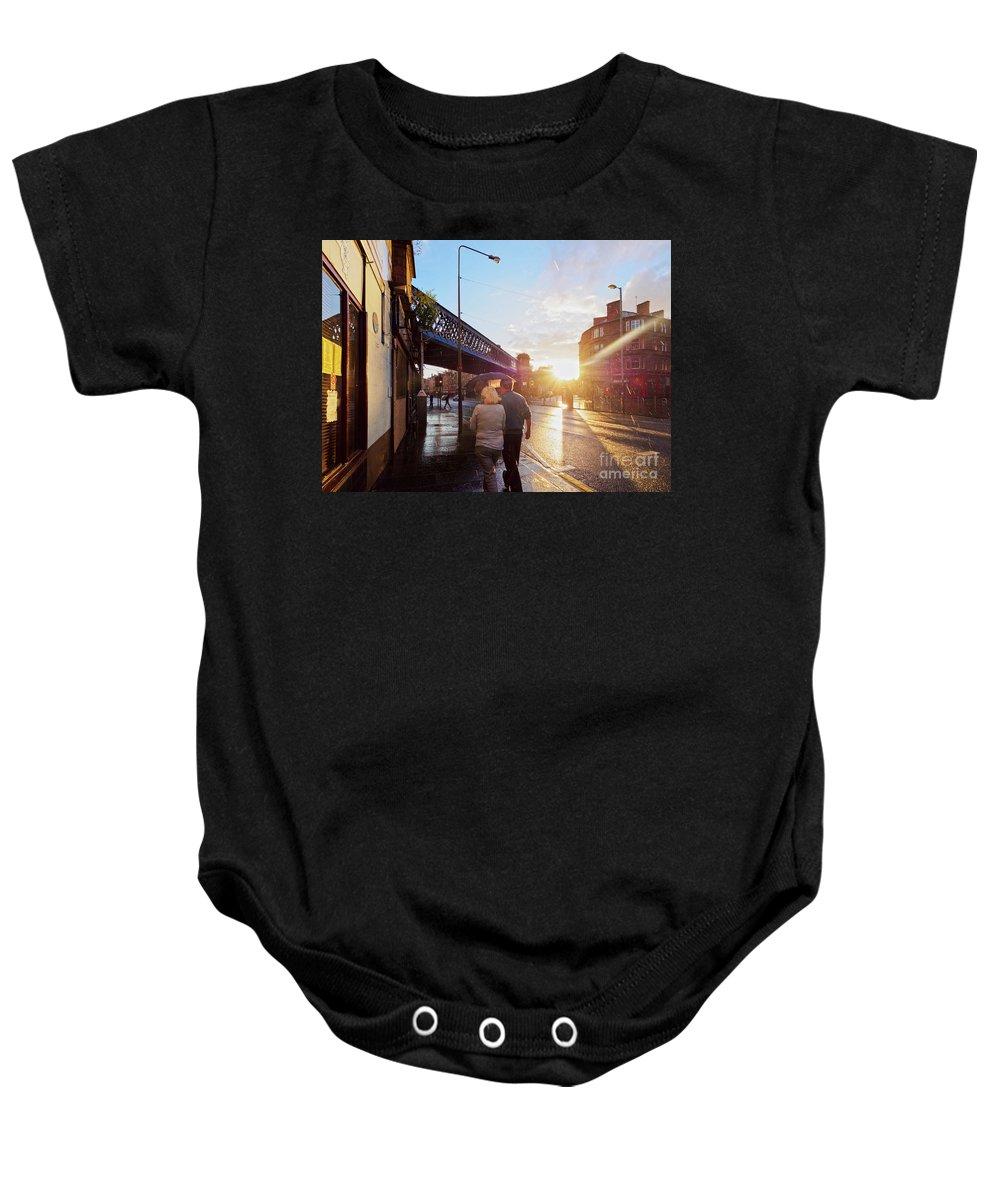 Glasgow Baby Onesie featuring the photograph Glasgow, Scotland by Karol Kozlowski