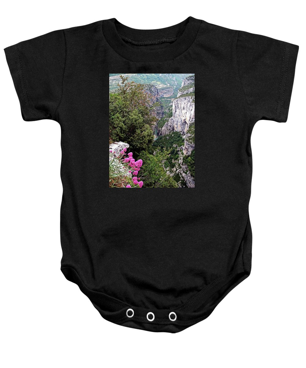 Mountains Baby Onesie featuring the photograph Grand Canyon Du Verdon by Christiane Schulze Art And Photography