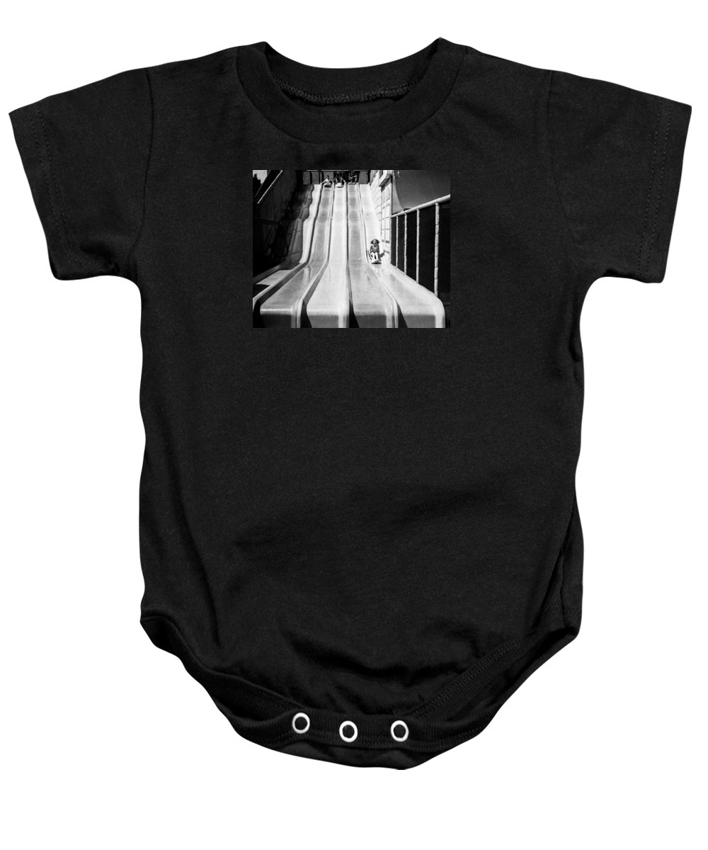 Fair Baby Onesie featuring the photograph A Day At The Fair by Alex Snay