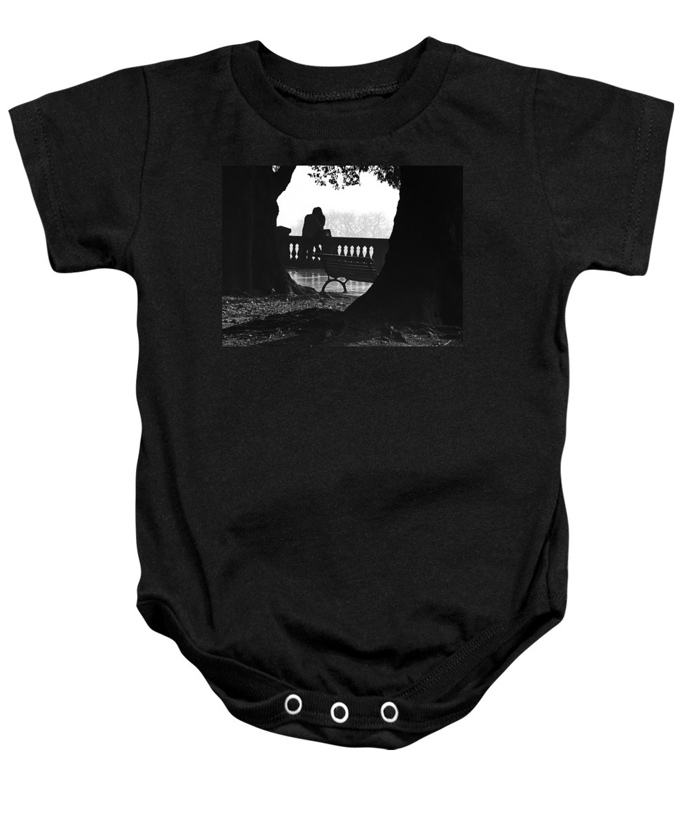 Buenos Aires Baby Onesie featuring the photograph A Kiss Is A Kiss by Osvaldo Hamer