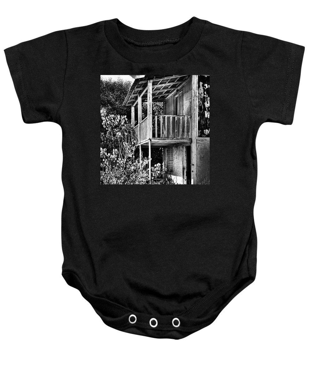 Amazing Baby Onesie featuring the photograph Abandoned, Kalamaki, Zakynthos by John Edwards