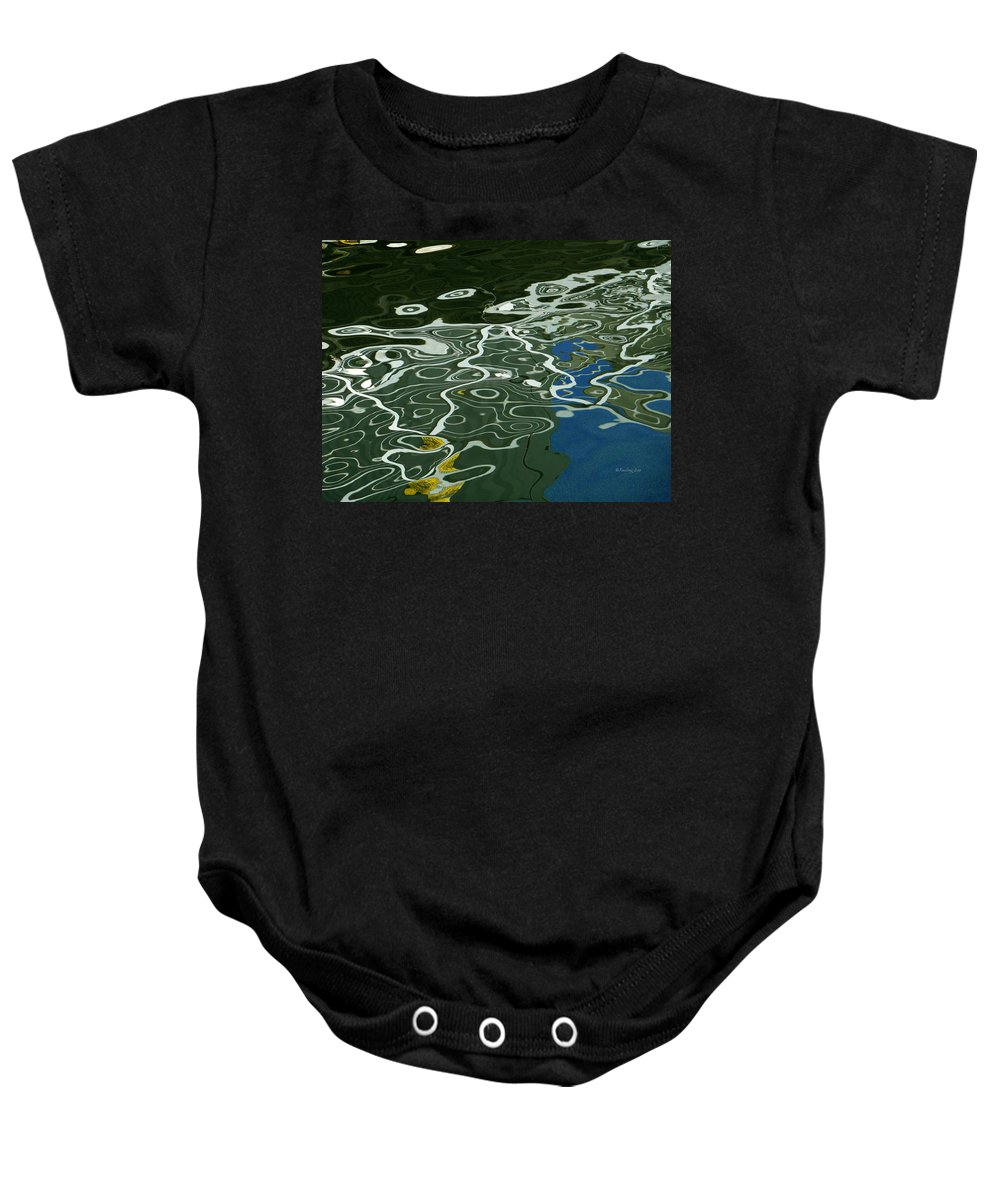 An Abstract Baby Onesie featuring the photograph Abstract 2 by Xueling Zou