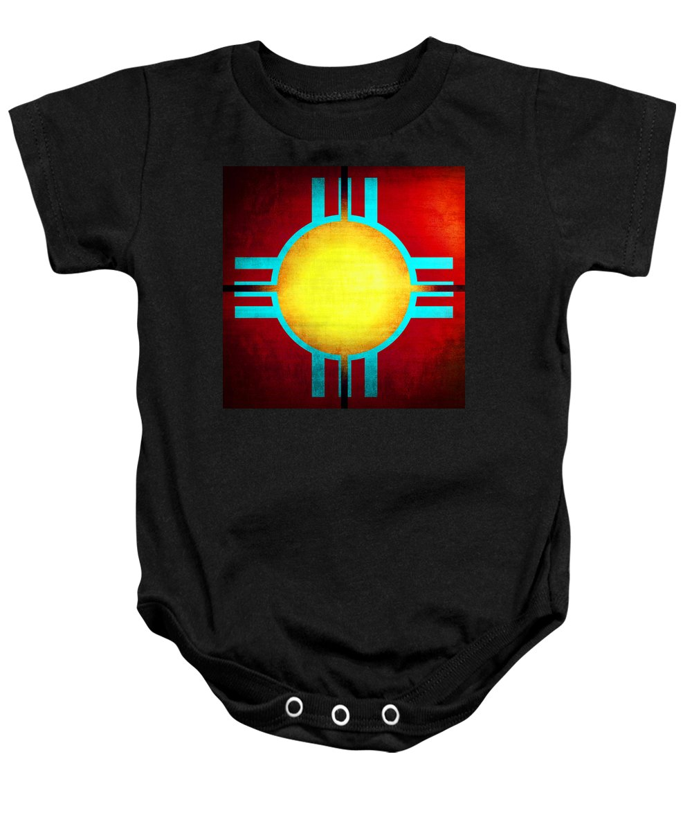 Abstract Baby Onesie featuring the photograph Abstract 98 by Timothy Bulone