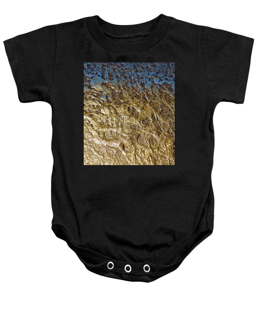 Abstract Baby Onesie featuring the photograph Abstract Artography 560004 by E Lee Wilson Jr