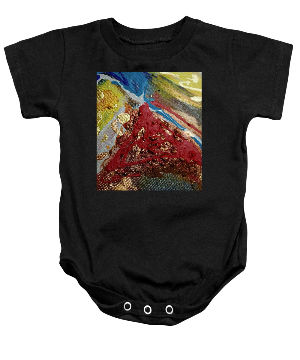Abstract Baby Onesie featuring the photograph Abstract Artography 560066 by E Lee Wilson Jr